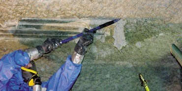 Asbest Spritzasbest entferne 679E0 Kopie - Kopie