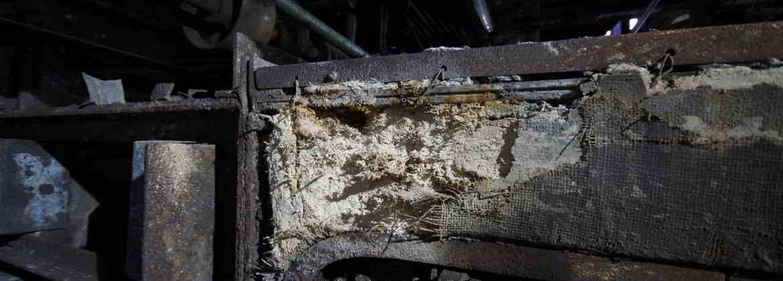 Abbildung von Asbest